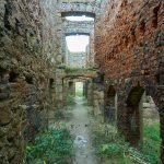 【廃墟】スコットランドの廃城・スレインズキャッスル。