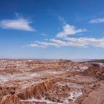 アタカマ砂漠・月の谷。